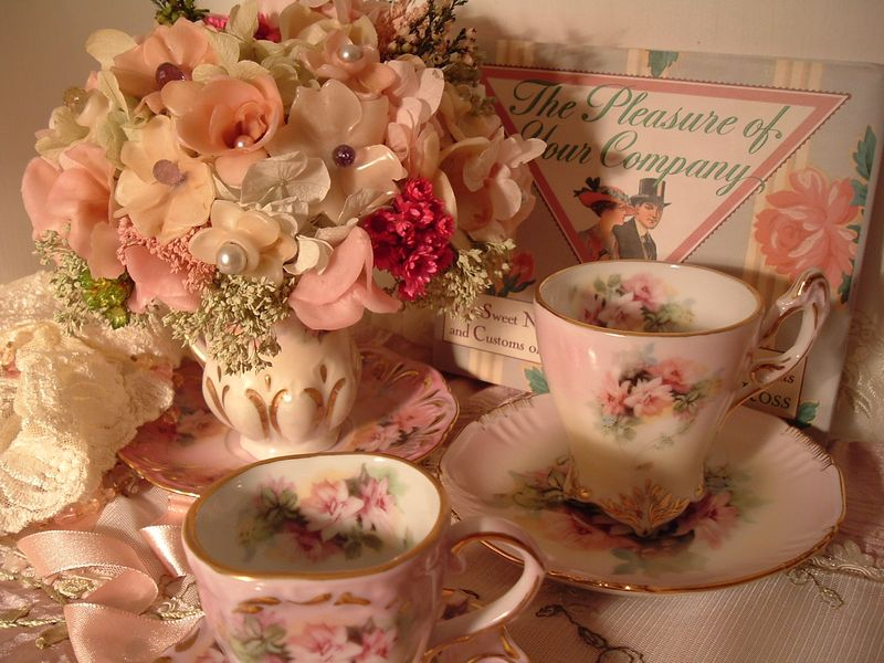 Tea for Two The Pleasure of Your Company Photography and Design Placement by Susan Cudahy
