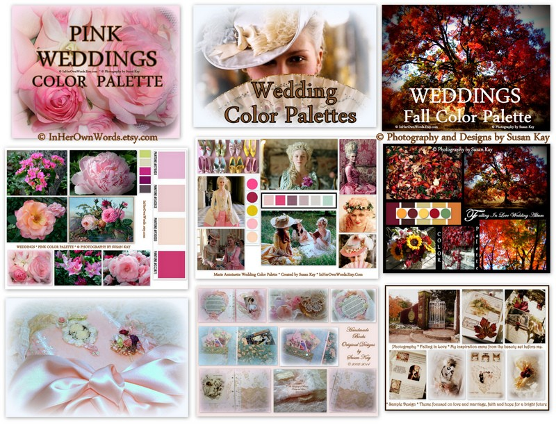 Wedding Color Palettes For All Seasons